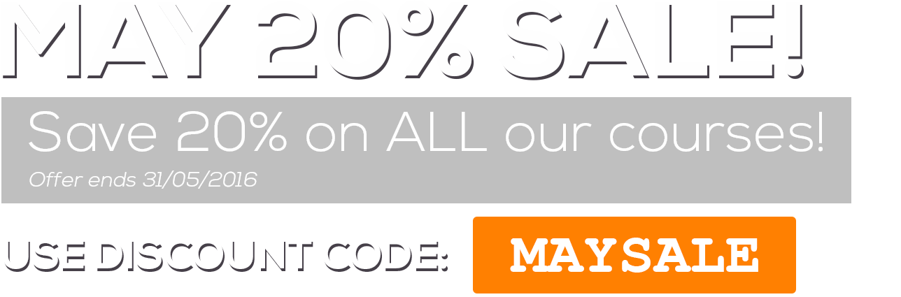 May Sale 2016