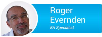 Roger Evernden Logo