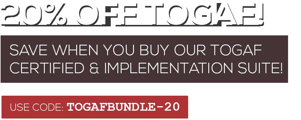 TOGAF Bundle 20%