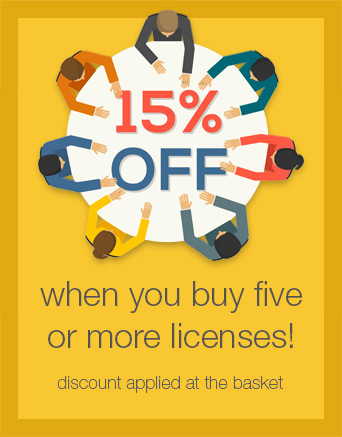 15% Team Discount