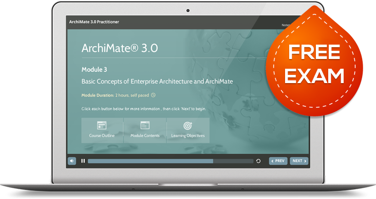 Archimate 3 certified course syllabus good e learning Architecture home learning courses