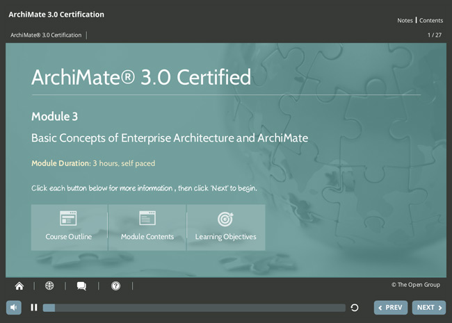ArchiMate® 3 Practitioner Screenshot 1