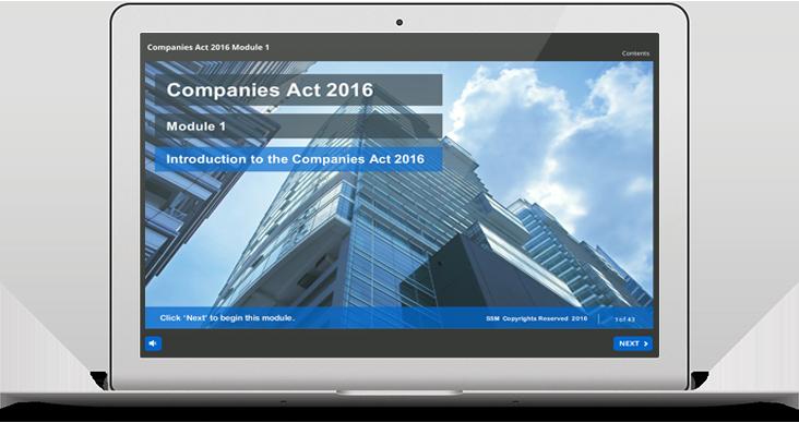 New Companies Act 2016