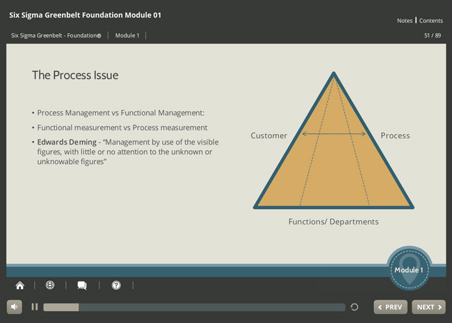 Six Sigma Green Belt Foundation (level 1) Screenshot 5