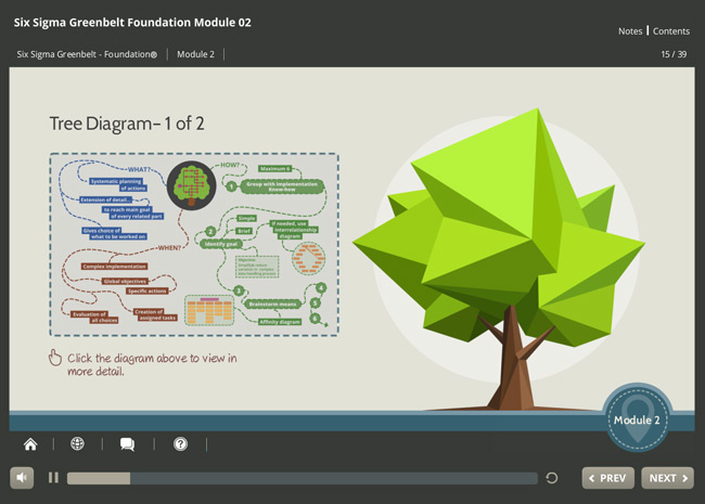 Six Sigma Green Belt Foundation (level 1) Screenshot 6