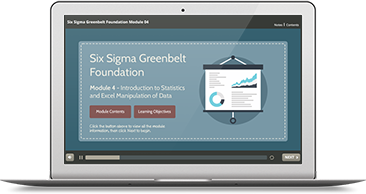 Six Sigma Green Belt Foundation (level 1) e-learning