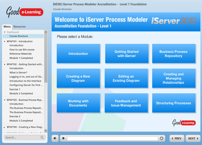 iServer Process Modeler Screenshot 1