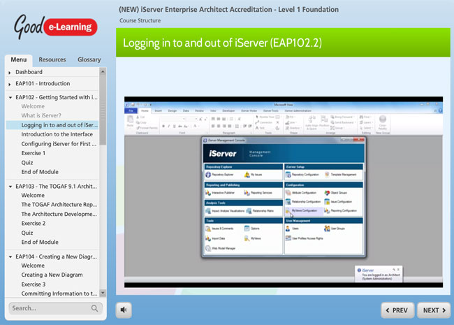 iServer Enterprise Architect Screenshot 4