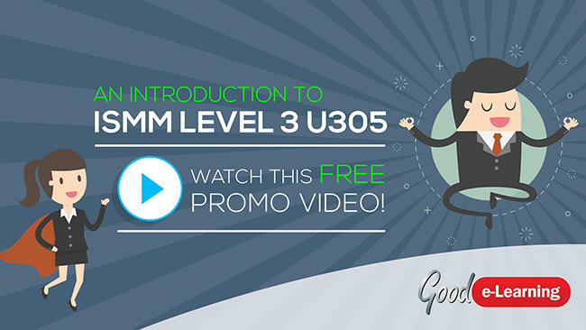 ISMM Level 3 U305 - Understanding Sales & Marketing in Organizations Video