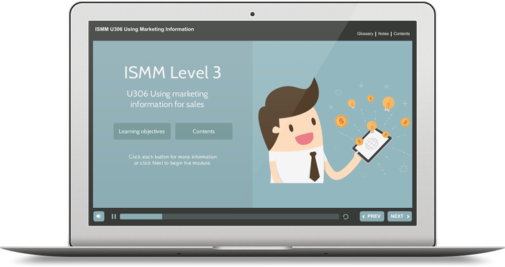 ISMM Level 3 U306 - Using Marketing Information for Sales