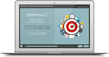 ISMM Level 3 U307 - Time & Territory Management e-learning