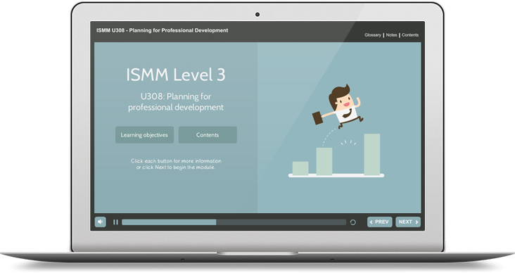 ISMM Level 3 U308 - Planning for Professional Development