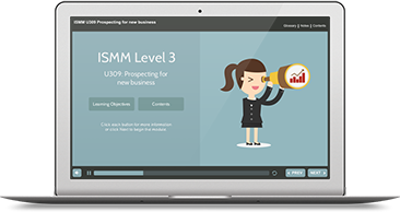 ISMM Level 3 U309 - Prospecting for New Business e-learning