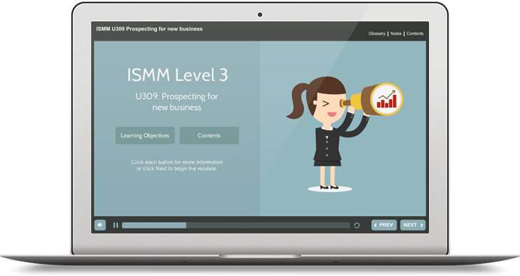 ISMM Level 3 U309 - Prospecting for New Business