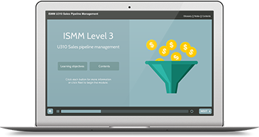 ISMM Level 3 U310 - Sales Pipeline Management e-learning