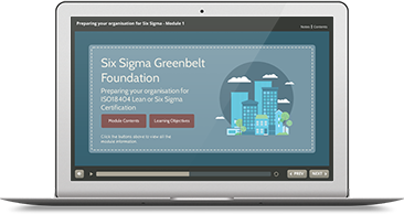ISO 18404 Lean & Six Sigma: Preparing your Organization e-learning