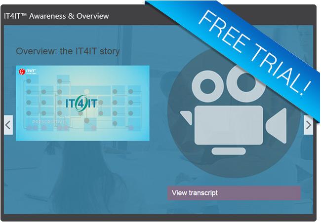 IT4IT Free Trial