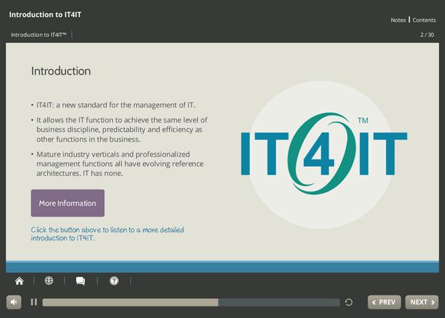 IT4IT™ Foundation Screenshot 1