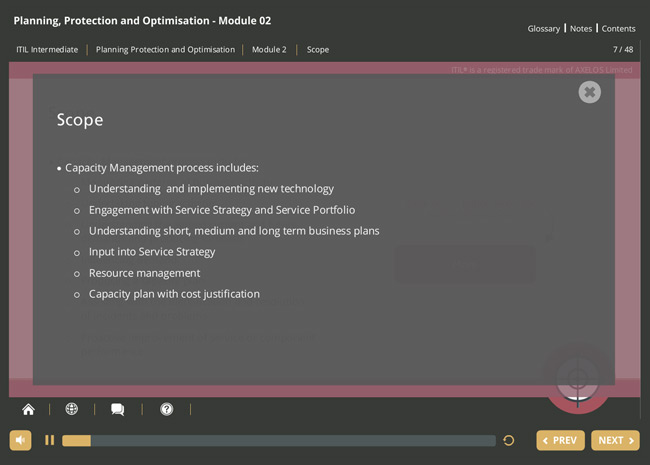 ITIL® Planning, Protection & Optimization (PPO) Screenshot 6