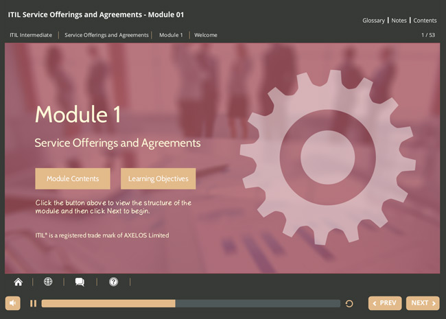 ITIL® Service Offerings & Agreements (SOA) Screenshot 1