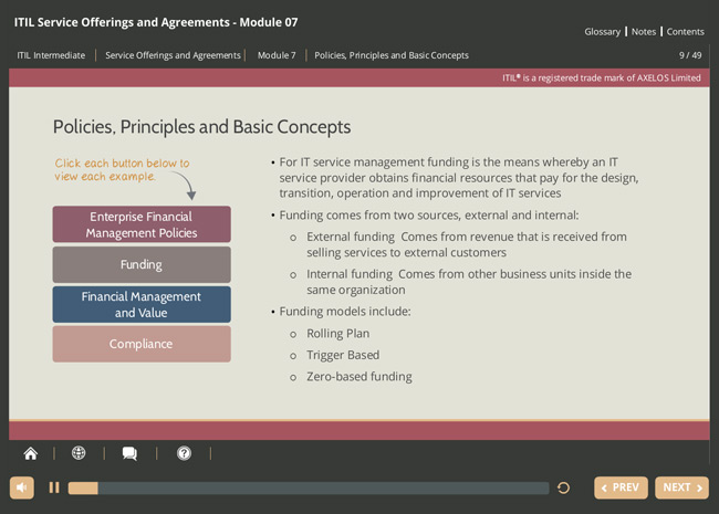 ITIL® Service Offerings & Agreements (SOA) Screenshot 4