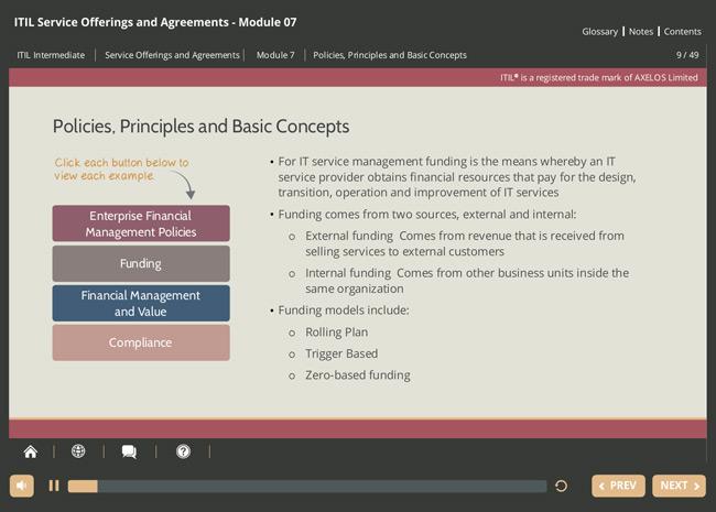 ITIL® Service Offerings & Agreements (SOA) Screenshot 4