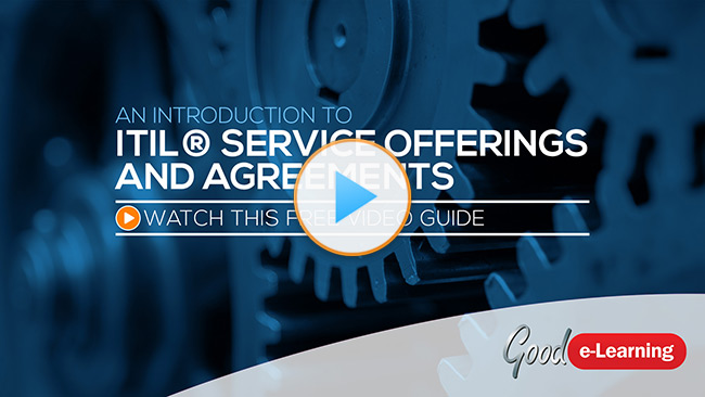 ITIL® Service Offerings & Agreements (SOA) Video