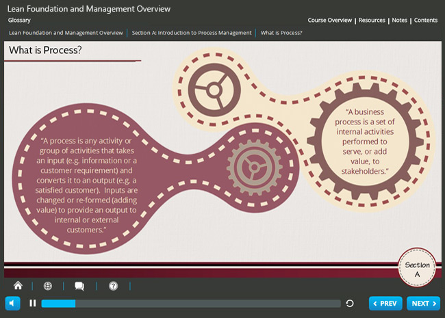 Lean Foundation & Management Overview (level 1) Screenshot 1