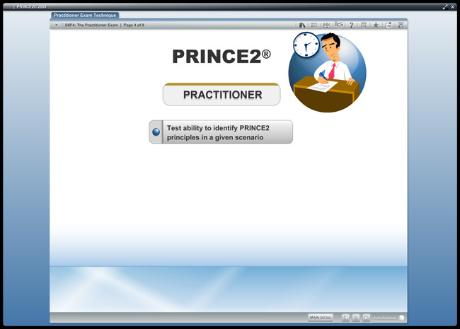 PRINCE2® Practitioner (level 2) Screenshot 4