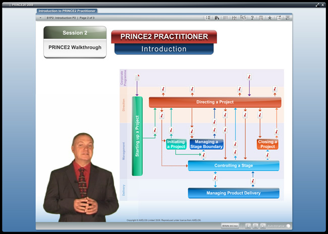 PRINCE2® Practitioner (level 2) Screenshot 5