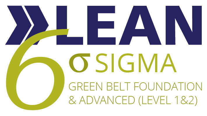 Six Sigma Green Belt Advanced (level 1 & 2) Logo
