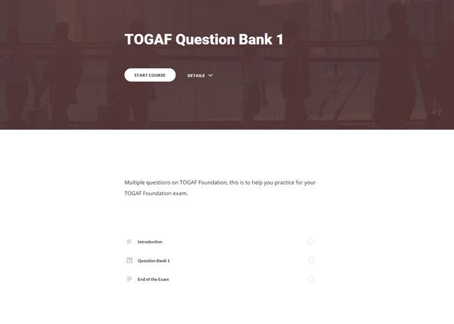 TOGAF® 9 Awareness & Foundation Suite Screenshot 5