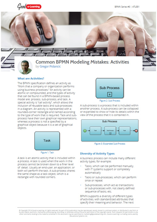 Common BPMN Modeling Mistakes: Activities image