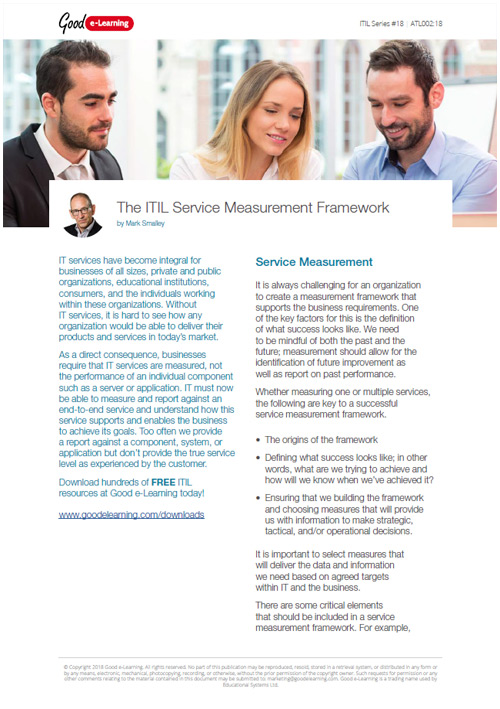 How to Measure Services With the ITIL Framework