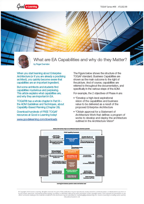 What are EA Capabilities and why do they Matter? image
