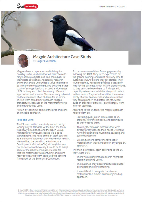 Magpie Architecture - Case Study