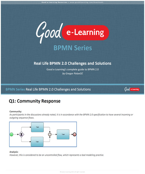 Real Life BPMN Challenges and Solutions