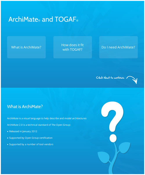 The Alignment Between Archimate and TOGAF
