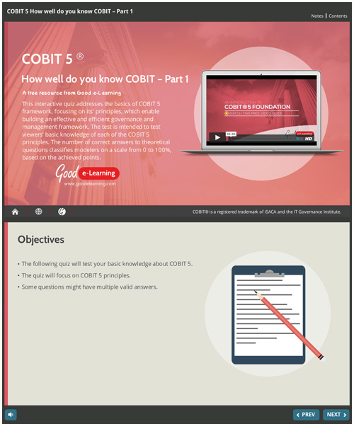 How well do you Know COBIT? Part 1