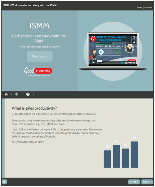 How Can ISMM Boost the Productivity of Your Sales Force?
