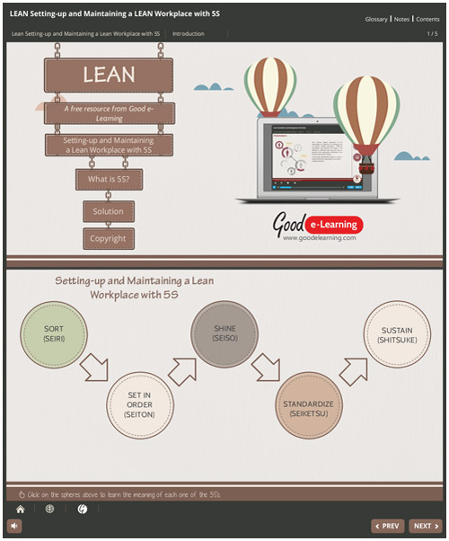Setting-up and Maintaining a Lean Workplace with 5S image
