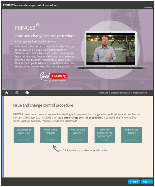 PRINCE2: Issue and Change Control Procedures