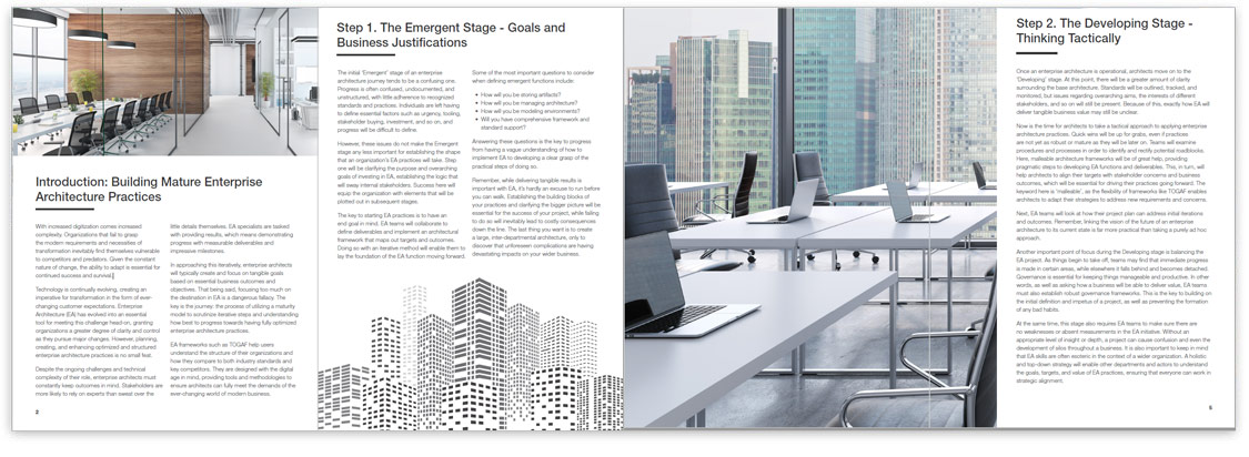 Design an EA in 5 Steps