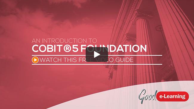 COBIT® 5 Foundation (level 1) Video