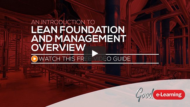 Lean Foundation & Management Overview (level 1) Video