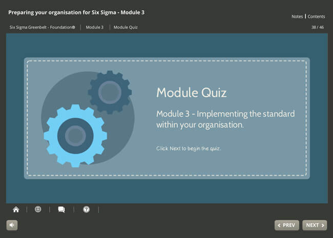 ISO 18404 Lean & Six Sigma: Preparing Your Organization Screenshot 1