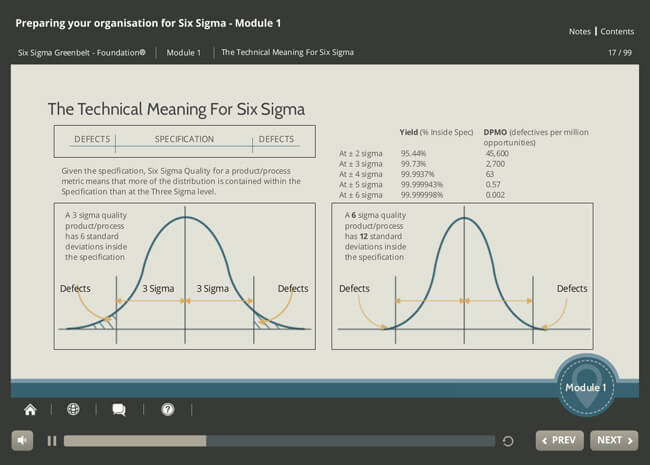 ISO 18404 Lean & Six Sigma: Preparing your Organization Screenshot 4