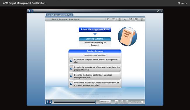 APM Project Management Qualification (PMQ) Screenshot 2