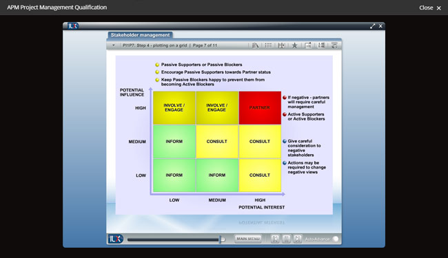 APM Project Management Qualification (PMQ) Screenshot 6