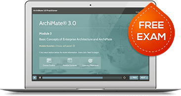 ArchiMate® 3 Foundation & Practitioner (level 1 & 2)